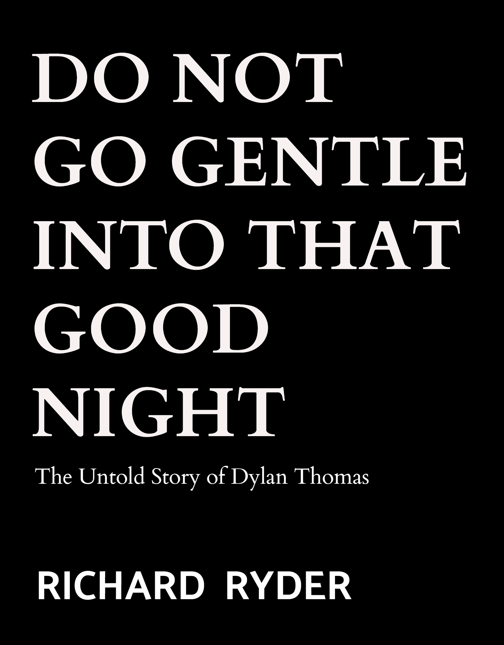 Dylan Thomas Biography Book Cover
